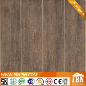 Matt Finished Dark Color Ceramic Floor Tile with Wooden Look (4A317) pictures & photos