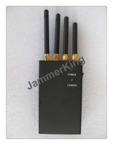 20 Meters Handheld 4 Bands 3G 4G Cell Phone and WiFi Jammer/Blocker; Portable Mobile Phone, GPS Signal Jammer pictures & photos