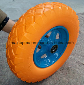 480/400-8 Solid Rubber PU Foam Wheel pictures & photos