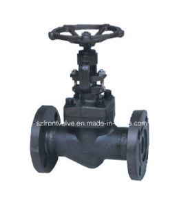 Forged Carbon Steel Flanged End and Butt Welded Globe Valve pictures & photos