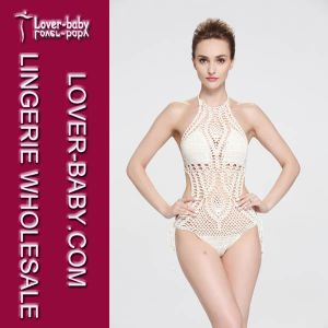 Fashion One Piece Swim Wear Hand Crochet Bikini (L32574-1) pictures & photos