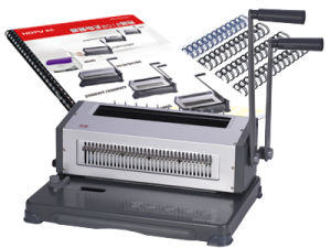 Manual Wire Binding Machine (WD-2088WF/2088WY) pictures & photos
