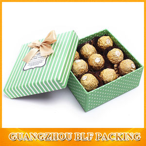 Printed Chocolate Box Packaging (BLF-GB543) pictures & photos