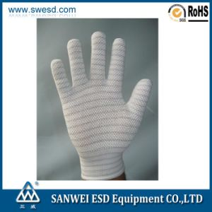 ESD PVC Dotted Glove 3W-9512-1 pictures & photos