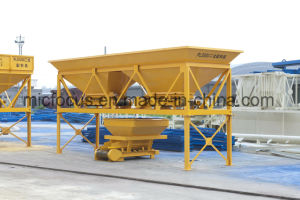 External Motorized Pulley PLD800 Aggregate Batcher with Flat Belt Machine pictures & photos