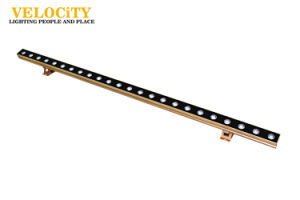 Single Color DC 24V Linear Light LED Wall Washer Light with DMX pictures & photos