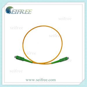 Single-Mode Fiber Optical Patchcord Sc Sc pictures & photos