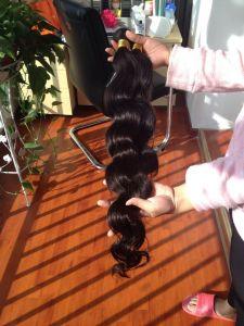 No Shedding Very Soft 100% Brazilian Virgin Human Hair Extension pictures & photos