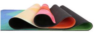 Quality Printed Microfiber Yoga Mat pictures & photos