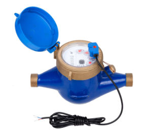 Multi Jet Water Meter with Pulse Output (1 liter/pulse) pictures & photos