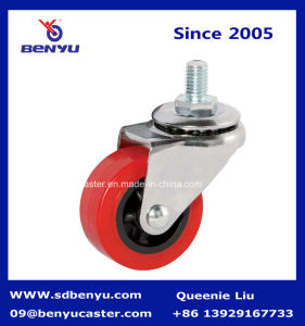 Various Size of Screw Caster with Side Brake pictures & photos