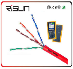UTP Cat5e for Network/LAN Cable with High Performance, CPR Approved pictures & photos