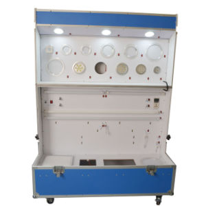 Green Color LED Cabinet for Sample Testing and Showing pictures & photos
