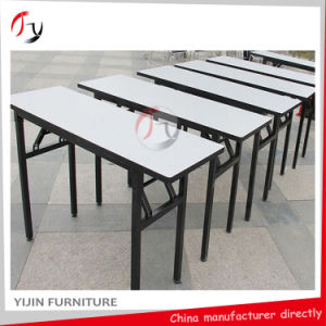 Long Plywood Folding Conference Banquet Rectangular Table (BT-09) pictures & photos