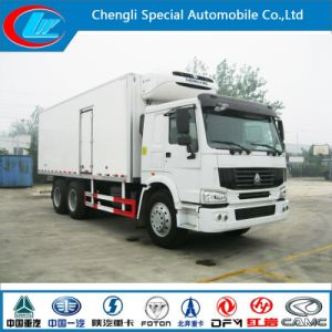 China Manufacture 25t Freezer Truck 6X4 Cooling Van Truck HOWO Freezer Truck pictures & photos
