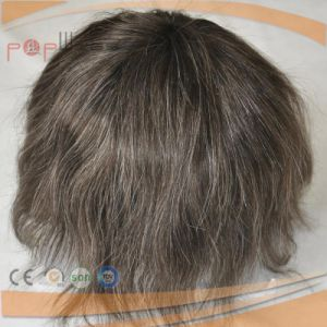 for Men 100 % Human Hair Full Lace Wig pictures & photos