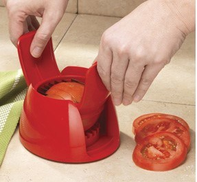 Plastic Mini Tomato Mozzarella Slicer pictures & photos