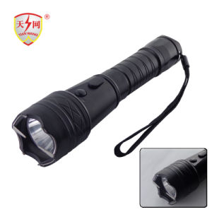 Heavy Power Aluminium Taser Stun Guns with LED Flashlight pictures & photos