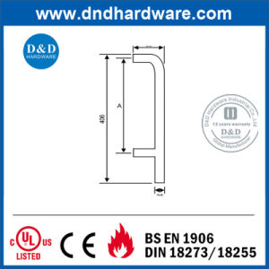Decorative Hardware Door Tubular Pull Handle with Ce Certification (DDPH010) pictures & photos