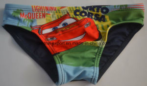 Boy Brief Swimwear with Colorful Cartoon pictures & photos