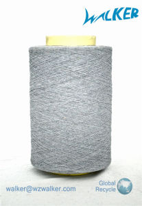 7# Grey Recycled Cotton Socks Yarn pictures & photos