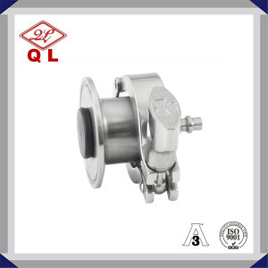 Sanitary Stainless Steel Air Blow Check Valve with Hose Nipple pictures & photos