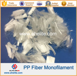 Polypropylene PP Fibre Fiber Fibra for Motar Concrete Cement pictures & photos