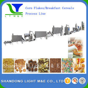 High Quality Extruded Crispy Sweet Corn Flakes Snack Machine pictures & photos