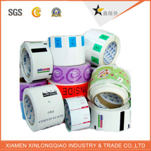 Thermal Barcode Printed Label Printing Paper Gloss/Matt Lamination Tag Sticker pictures & photos