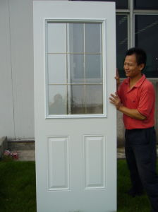 Galvanized Free Standing Steel Door pictures & photos