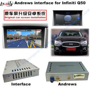 GPS Android 4.4 Video Interface Navigator for Infiniti Q50L 2014-2016 pictures & photos