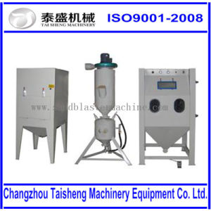 China Efficient Pressurized Glass Bead Blasting Cabinet Initial ...