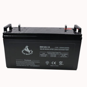 12V 120ah Rechargeable Sealed Lead Acid Battery for Electric Power pictures & photos