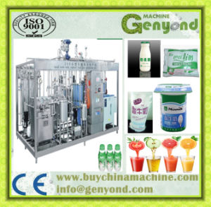 Small Scale Yoghurt Milk Juice Machine for Sale pictures & photos