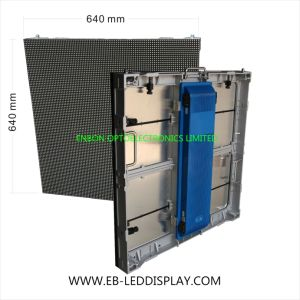 P6.67 Outdoor Die Casting 640*640mm Advertising LED video Wall Display pictures & photos