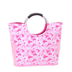 Summer Flower Beach Bag Tote Bag Handbag for Promotion pictures & photos