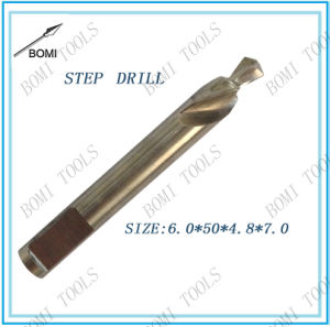 HSS Step Drill Size: 6.0*60*4.8*25mm pictures & photos