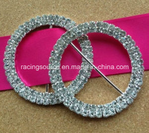 Rhinestone Wedding Chair Sash Round Buckles pictures & photos