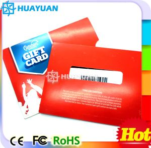 PVC VIP loyalty Membership Gift Card holder for promotional pictures & photos