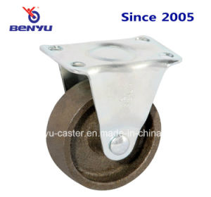 Light Duty Cast-Iron Caster with Brake pictures & photos
