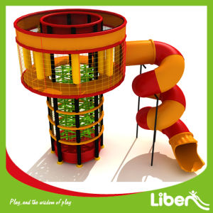 Liben Hot Sales Spider Trampoline Tower in Trampoline Park with Tube Slide pictures & photos