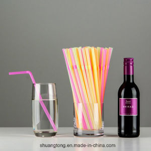 5mm, 6mm, 7mm Straight/Flexible Drinking Straw Assorted pictures & photos