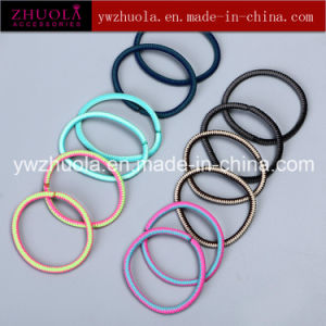 Metal Free Elastic Rubber Hair Band pictures & photos