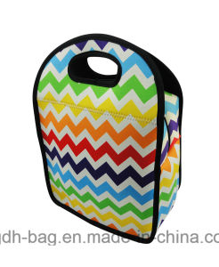 Beautiful Rainbow Color Lunch Bag Handbags for Work/School pictures & photos