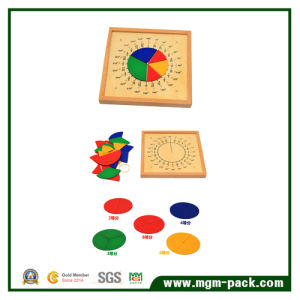 Popular Rounded Math Educational Wooden Toy pictures & photos