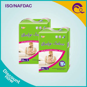 High Absorption Magic Tape Cotton Baby Diapers
