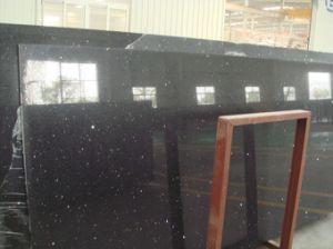 Black Flash Mirror Quartz for Tile Slab Countertop pictures & photos