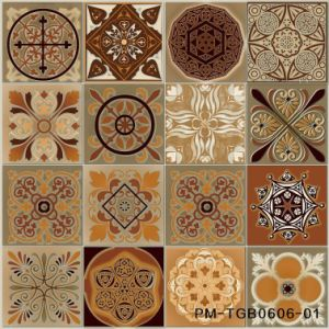 "Tango Series 24""X24"" Home Decotation Parquet Glazed Lapato Ceramic Tile pictures & photos"