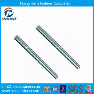 Zinc Plated Carbon Steel Threaded Rod DIN975 DIN976 pictures & photos