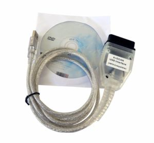 USB to OBD K+D-Can Diagnostics Cable for BMW pictures & photos